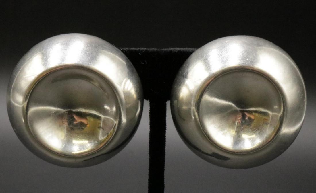 Taxco Sterling Silver Earrings