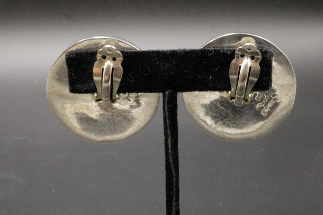 Taxco Sterling Silver Earrings - 2
