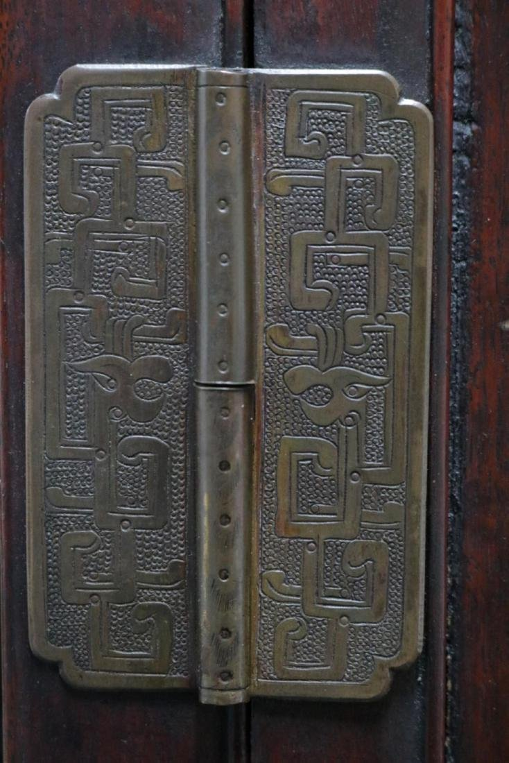 Antique Chinese Teakwood Cabinet - 8