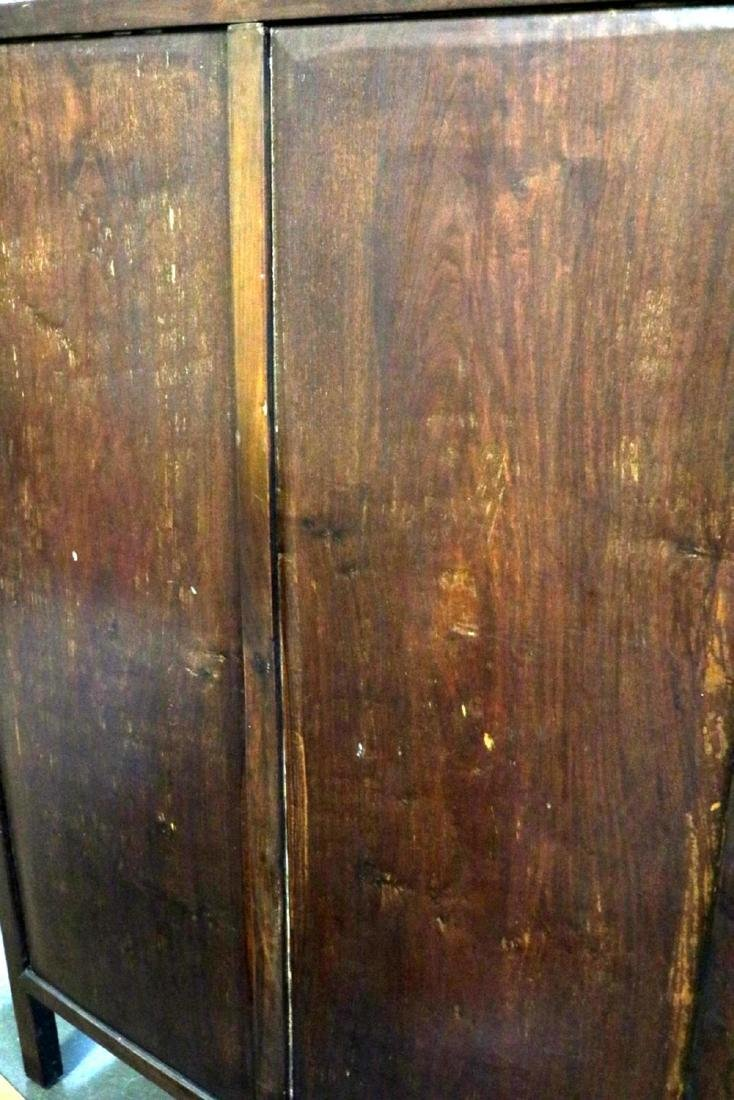 Antique Chinese Teakwood Cabinet - 9