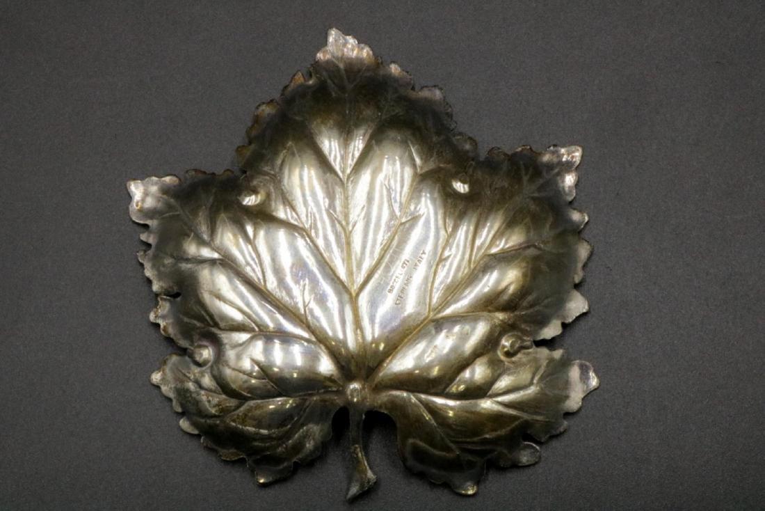 Mario Buccellati Sterling Maple Leaf Dish - 2