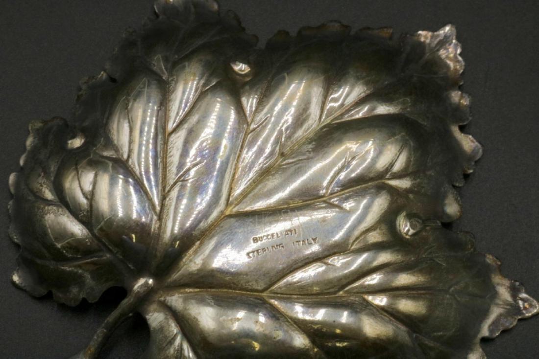 Mario Buccellati Sterling Maple Leaf Dish - 3