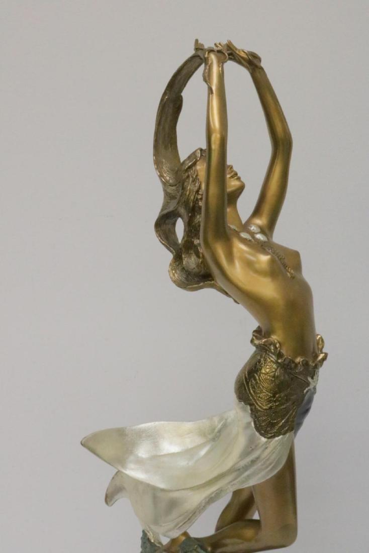 Angelo Basso (Italian 1943-2011) Bronze Sculpture - 2