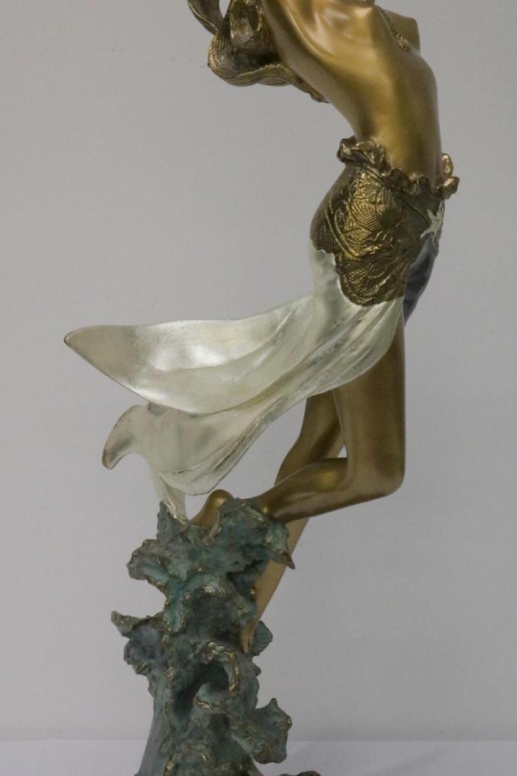 Angelo Basso (Italian 1943-2011) Bronze Sculpture - 3