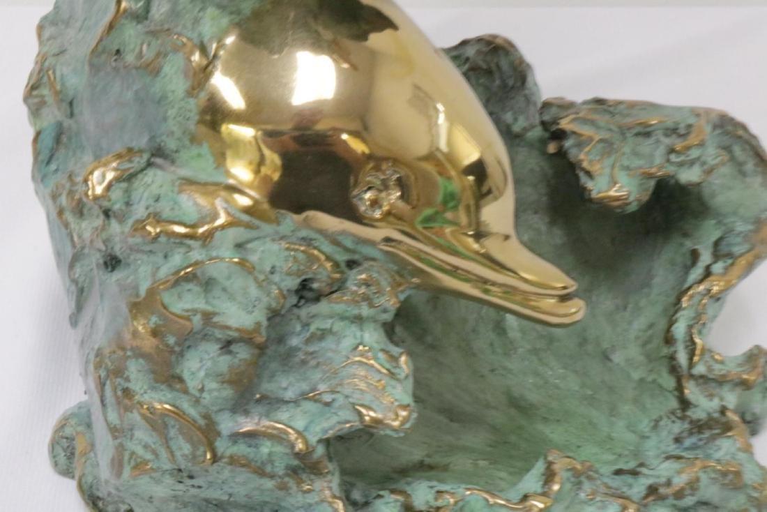 Angelo Basso (Italian 1943-2011) Bronze Sculpture - 5