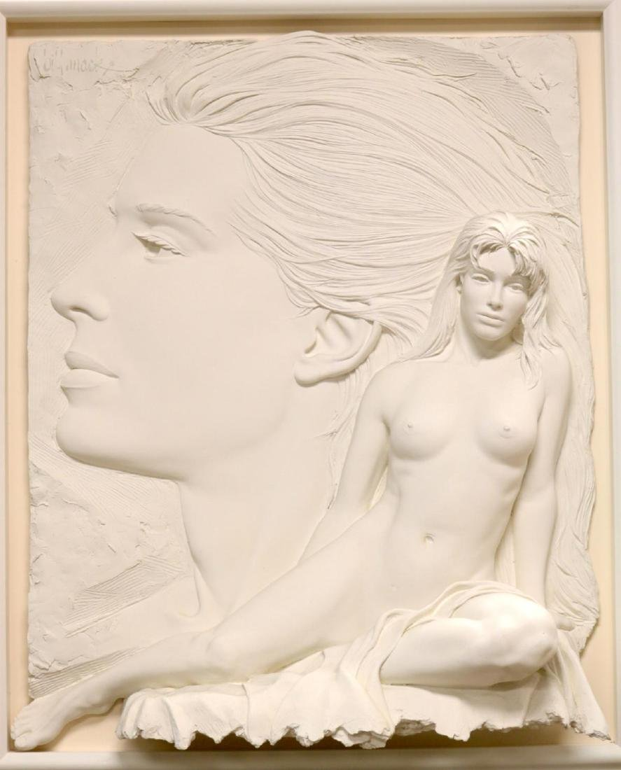 "Bill Mack (American b. 1949) ""Envision"" Wall Sculpture"