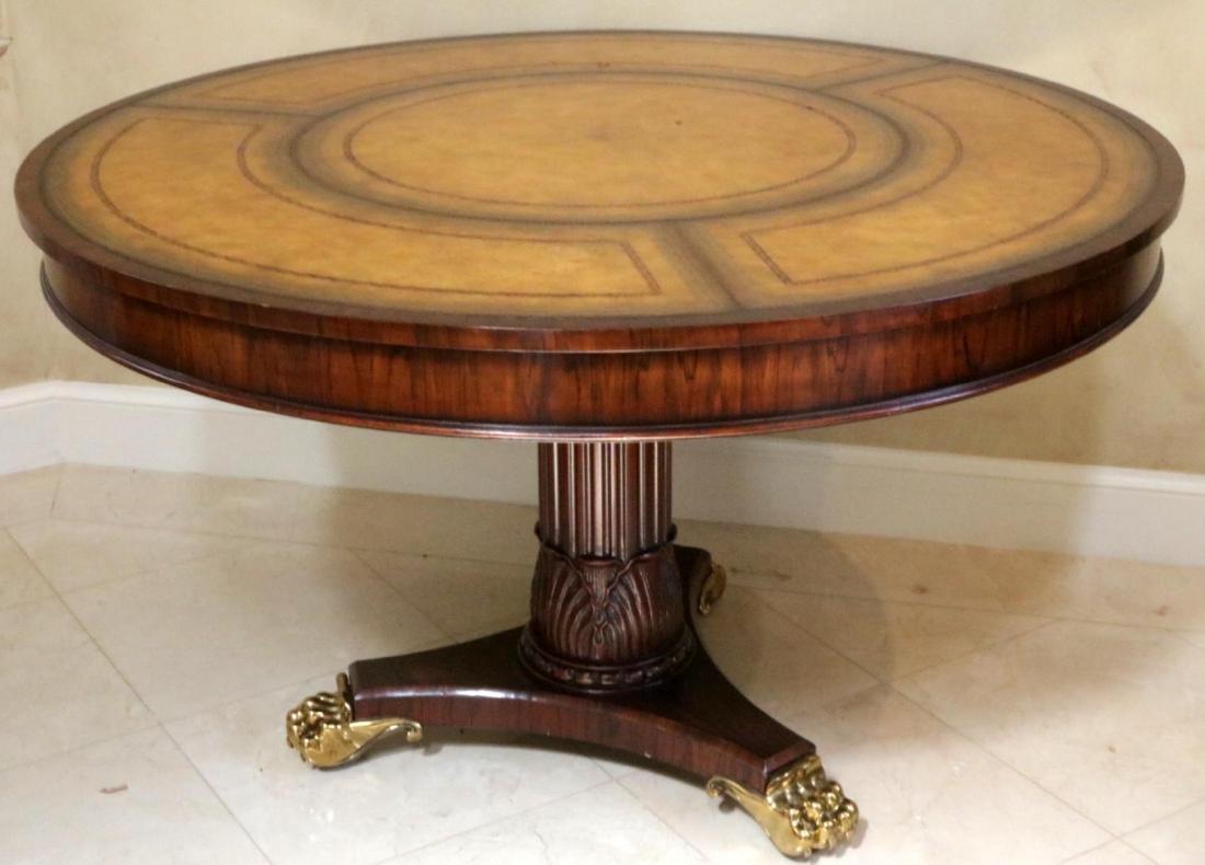 Maitland Smith Regency Style Mahogany Table