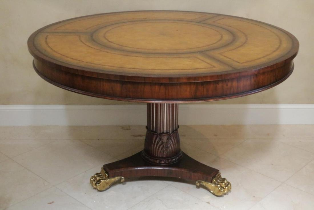 Maitland Smith Regency Style Mahogany Table - 2