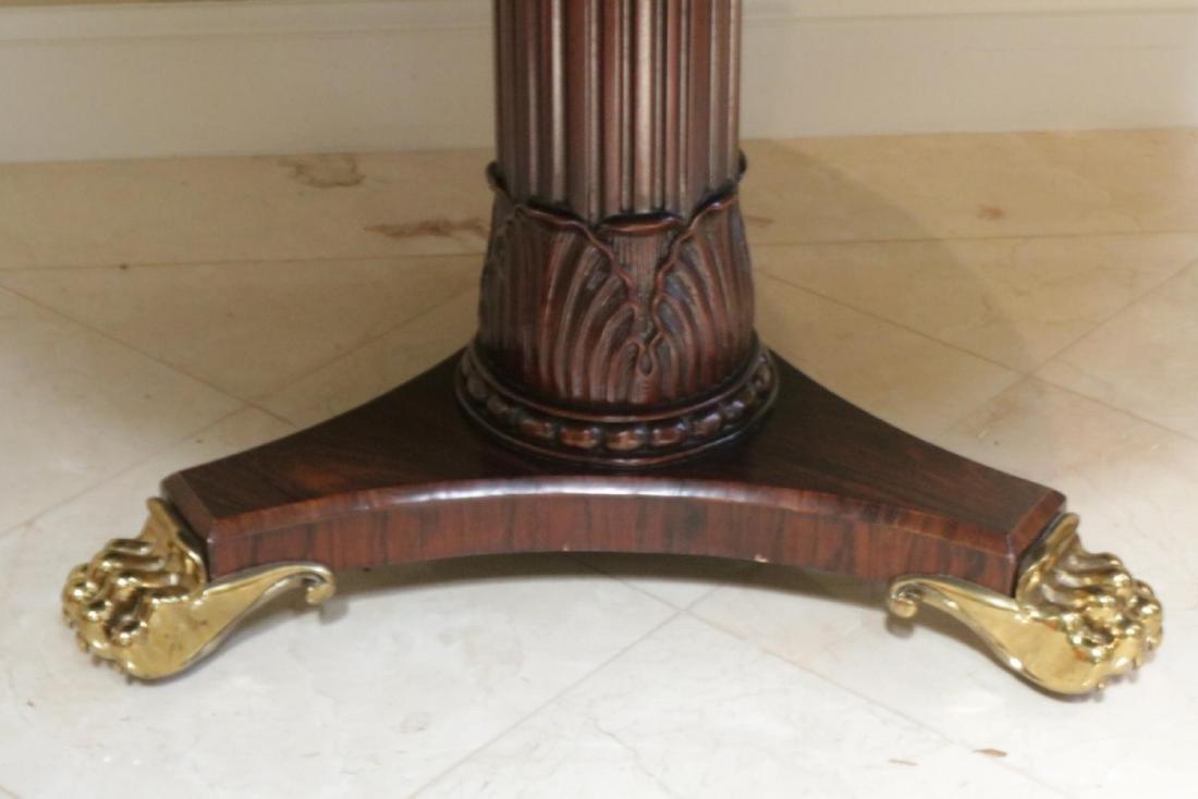 Maitland Smith Regency Style Mahogany Table - 3