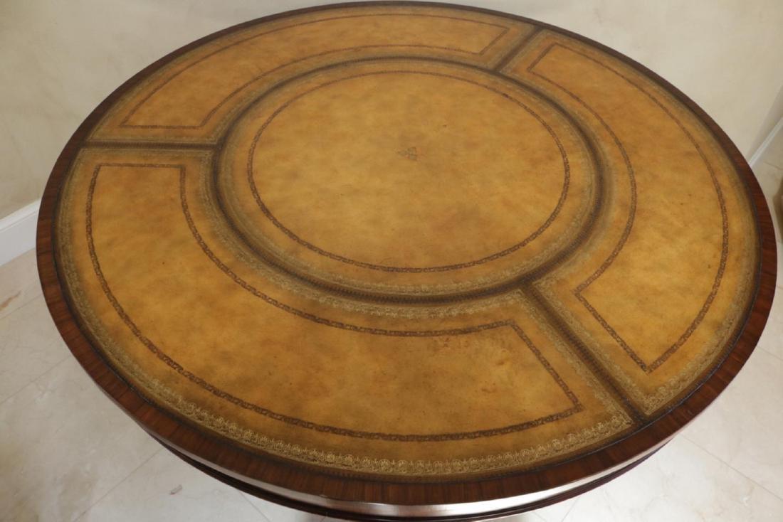Maitland Smith Regency Style Mahogany Table - 4