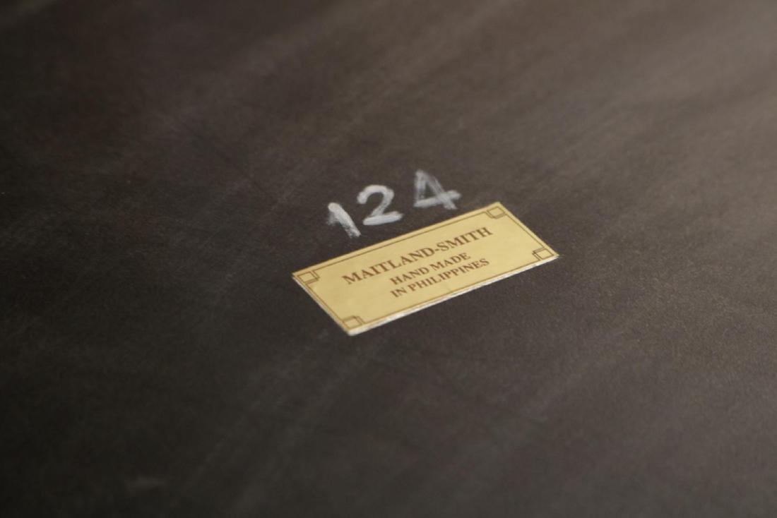 Maitland Smith Regency Style Mahogany Table - 7
