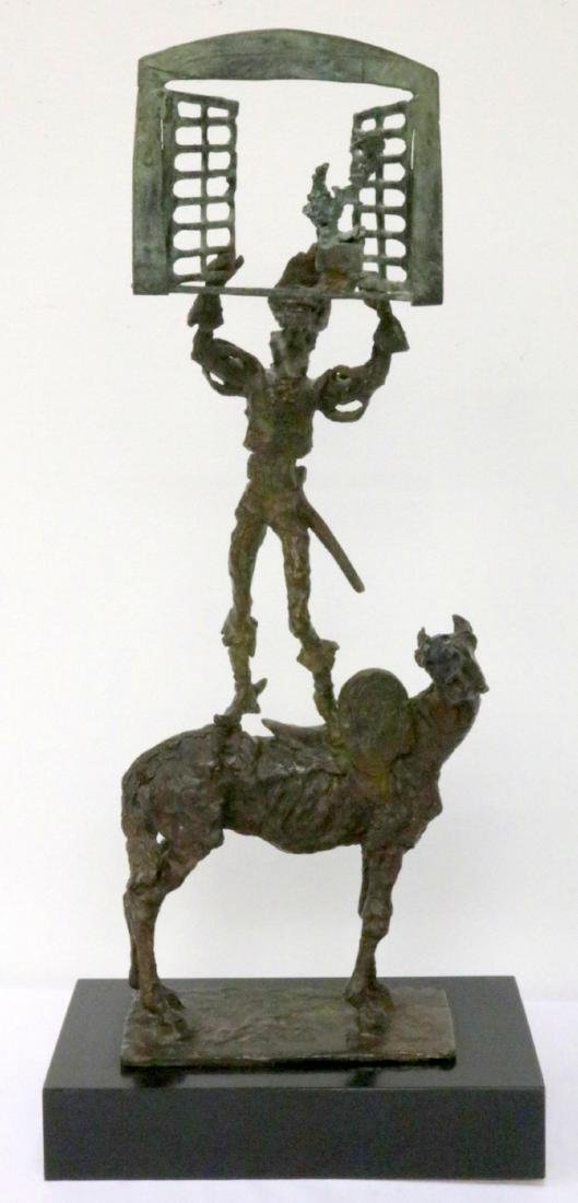 George Gach (American 1909- 1996) Bronze Sculpture