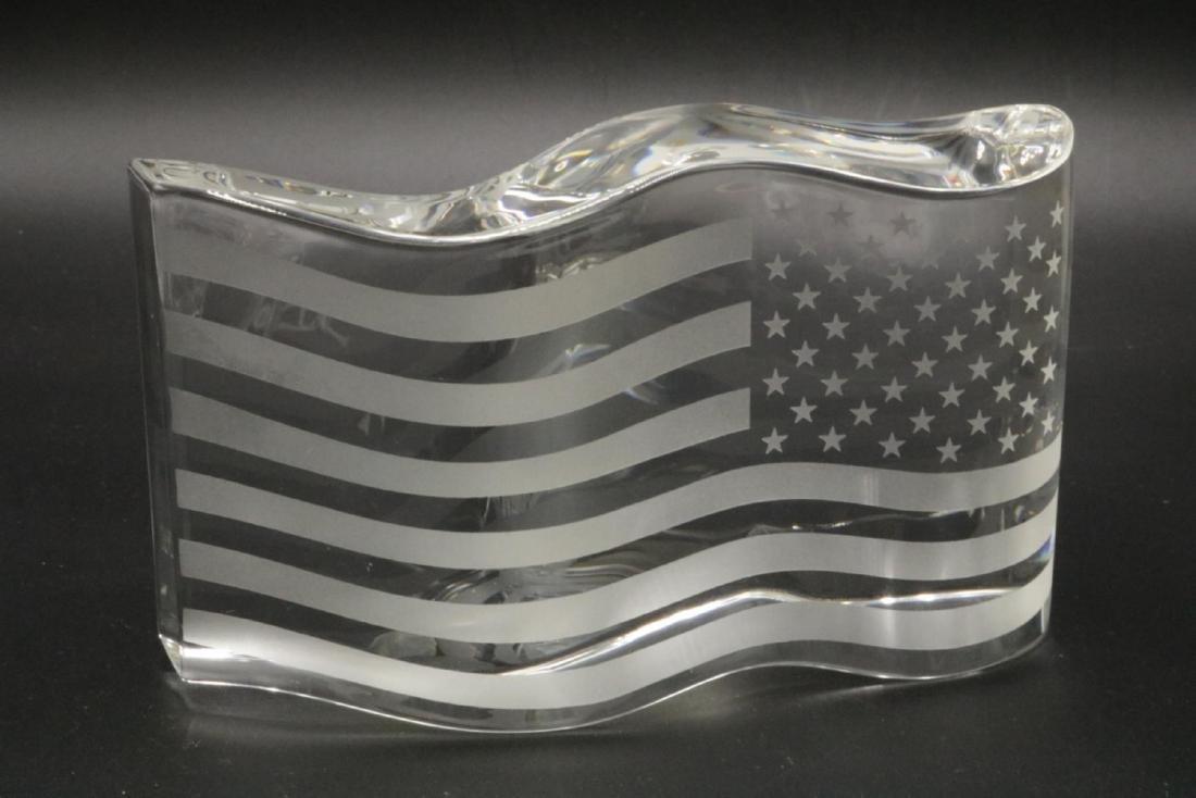 "Steuben ""America the Beautiful"" Crystal Sculpture - 3"