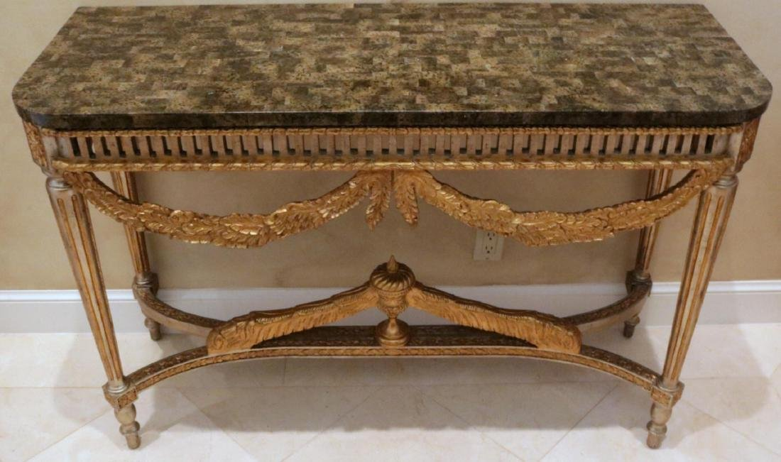 Maitland Smith French Style Wall Tables