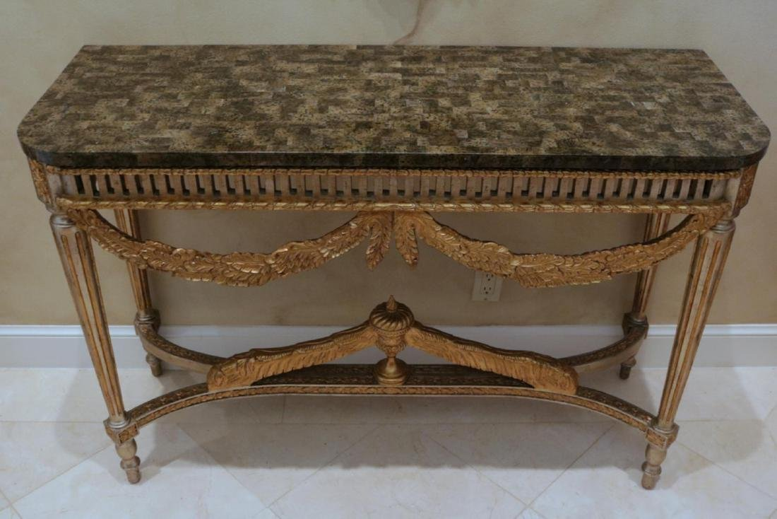 Maitland Smith French Style Wall Tables - 2