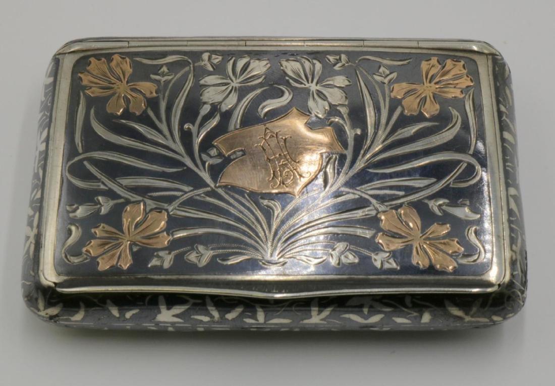 Antique Austrian Sterling Snuff Box