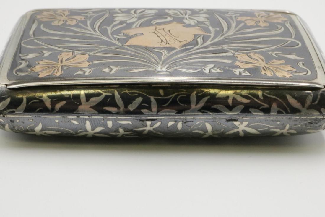 Antique Austrian Sterling Snuff Box - 2