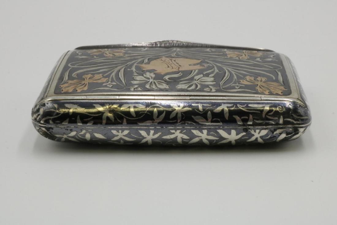 Antique Austrian Sterling Snuff Box - 4