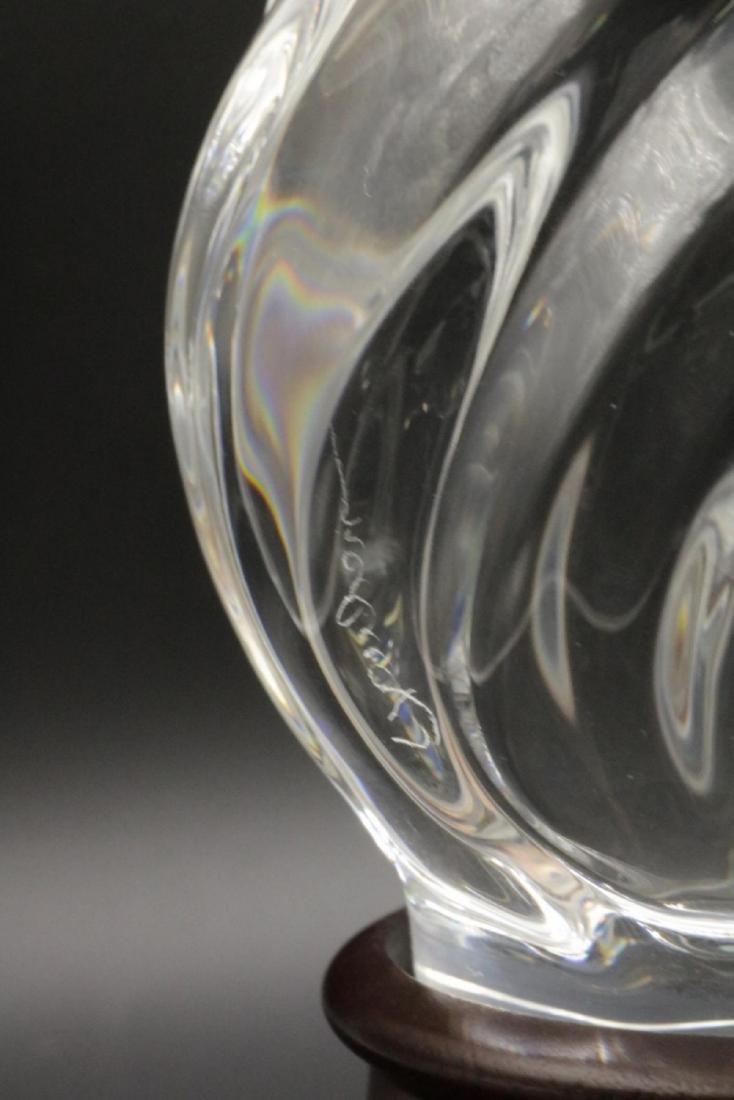 "Steuben ""Torch of Strength"" Crystal Sculpture - 4"