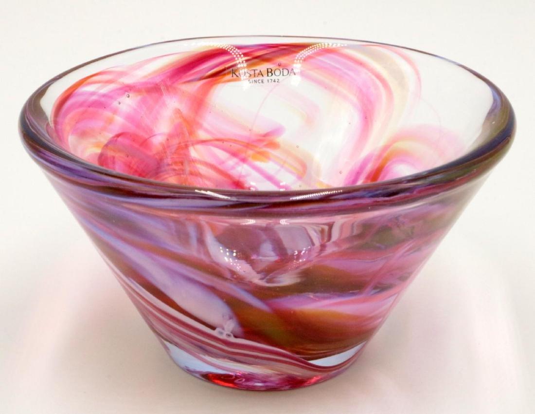"""Kosta Boda """"Florie"""" Glass Bowl"""