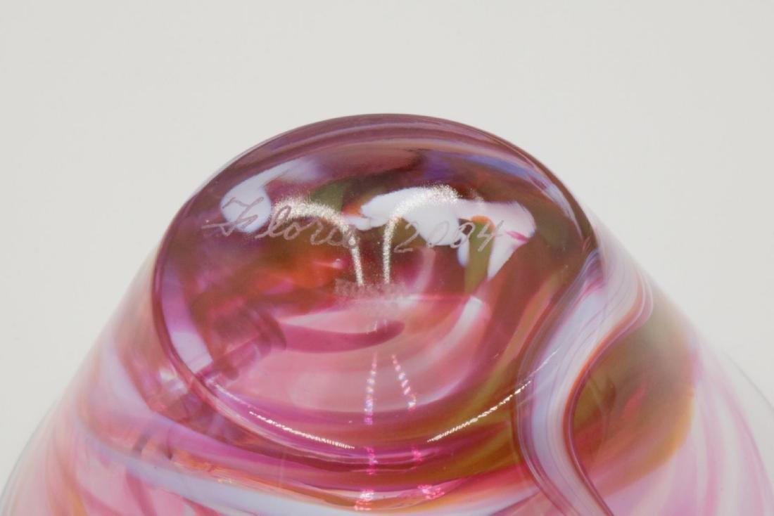 """Kosta Boda """"Florie"""" Glass Bowl - 3"""