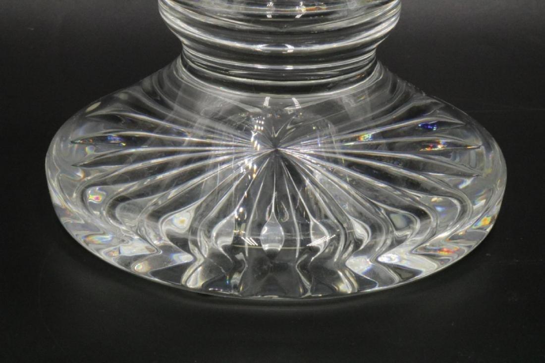 Large Waterford Crystal Footed Vase - 4