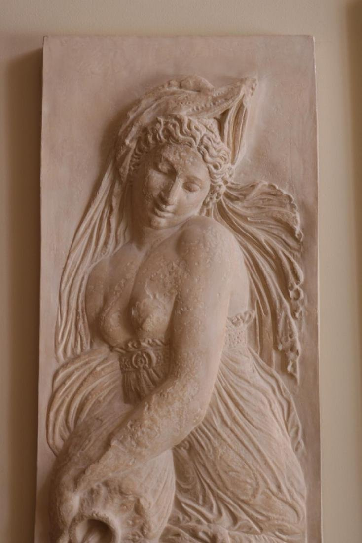 Massive 7.5' Goddess of Water Wall Plaque - 3