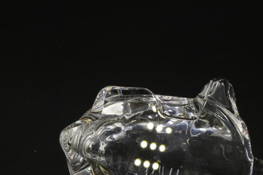 Steuben Crystal Turtle Paperweight - 3