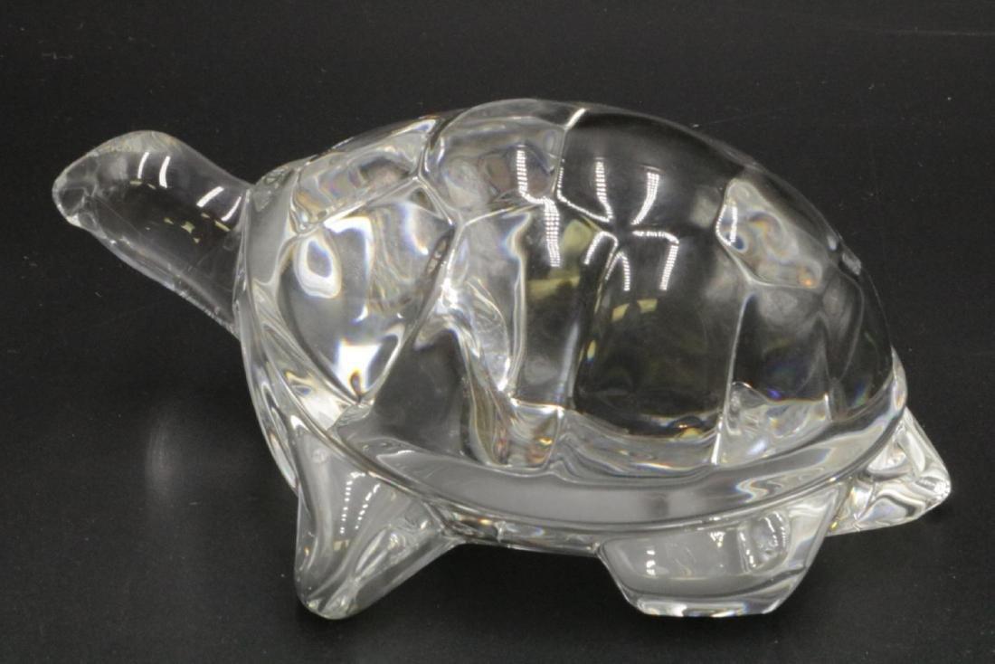 Large Steuben Crystal Turtle Sculpture - 2