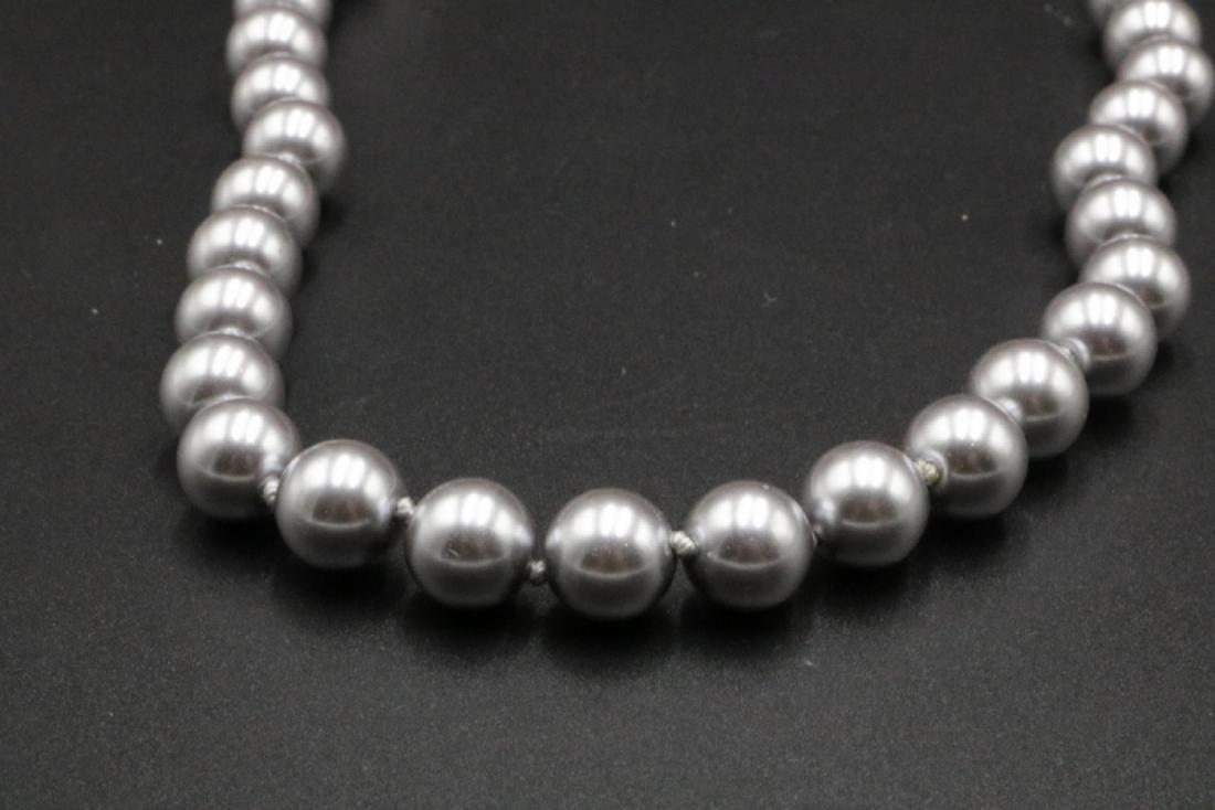 Tahari Pearl Necklace - 2