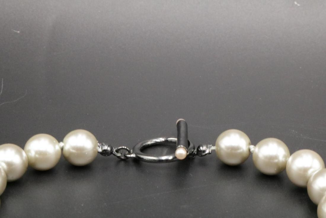 Tahari Pearl Necklace - 3