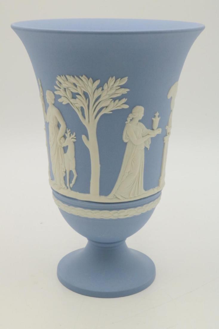 Wedgwood Jasperware Vase - 3