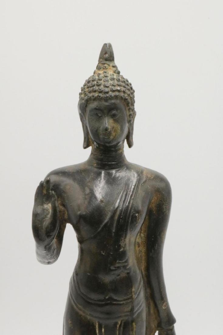 Unsigned Tibetan Bronze Sculpture - 2
