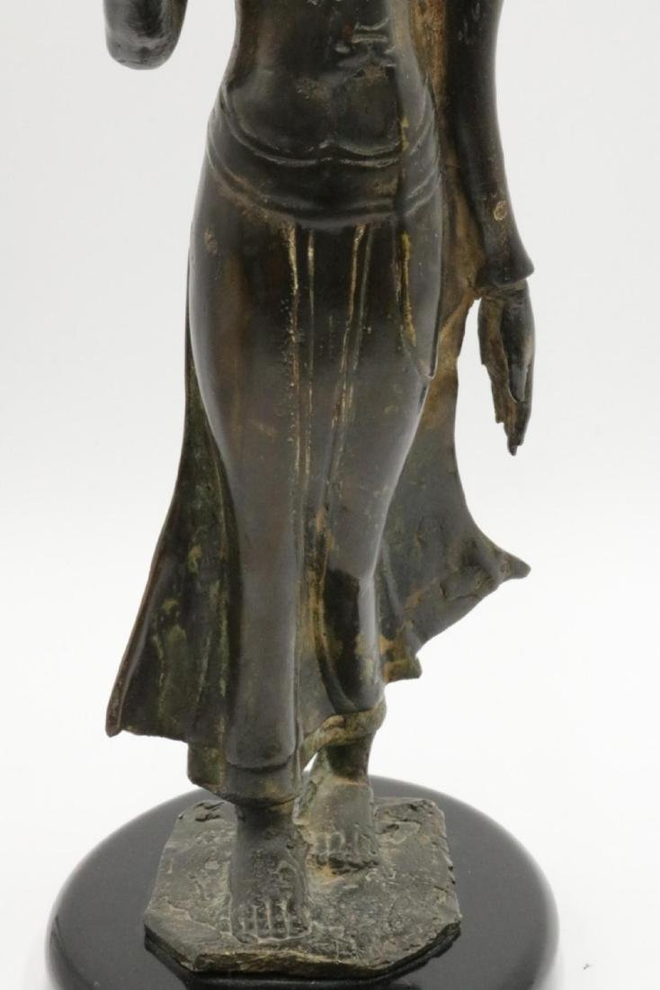 Unsigned Tibetan Bronze Sculpture - 3