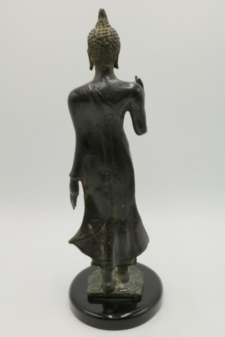 Unsigned Tibetan Bronze Sculpture - 4