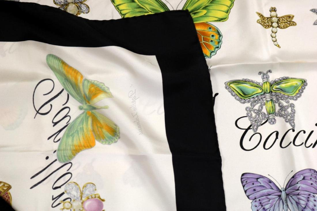 Christian Dior 100% Silk Scarf - 5