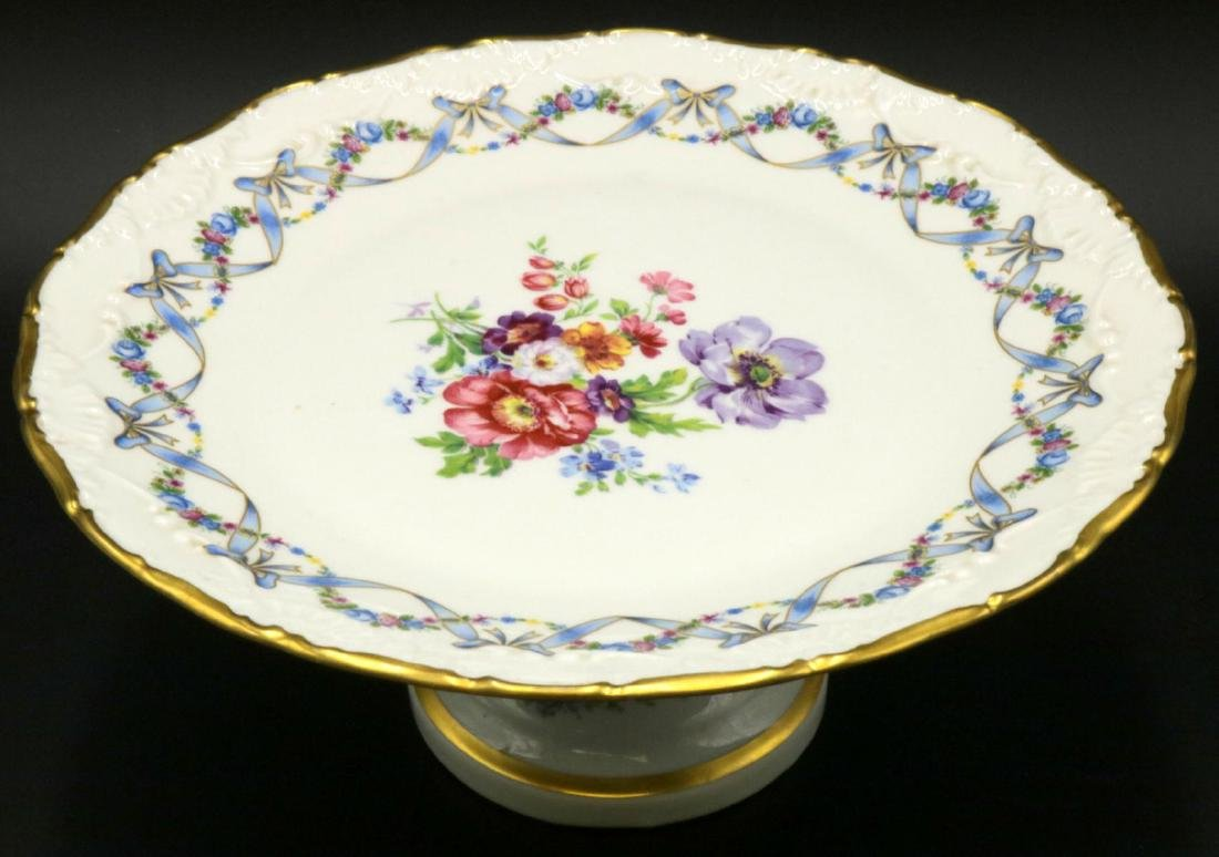 Limoges France Porcelain Compote