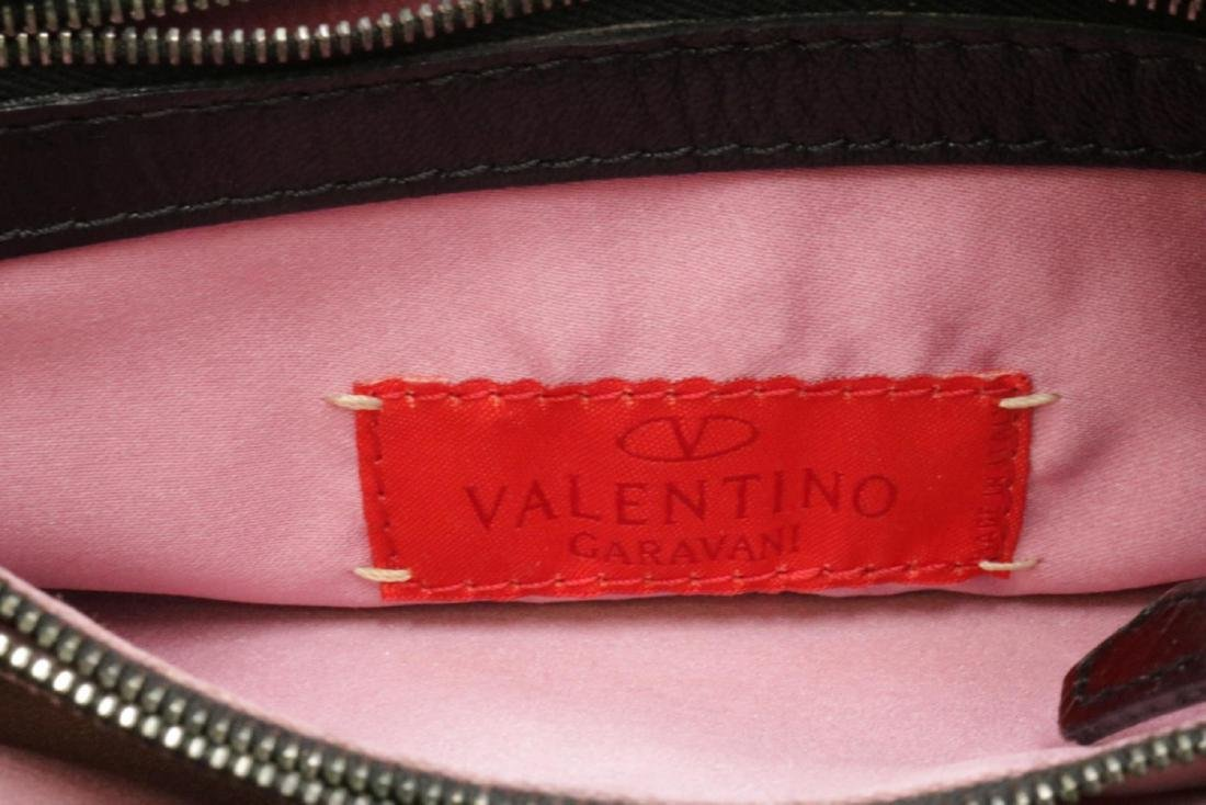 Valentino Garavani Corduroy & Leather Purse - 4