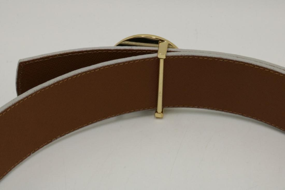 Tony Burch Leather Belt - 3