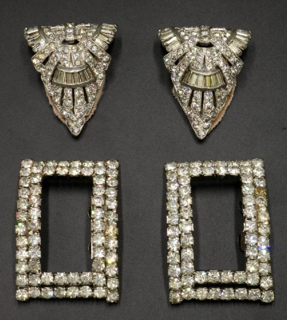 Art Deco & Vintage Shoe Clips & Dress Clips