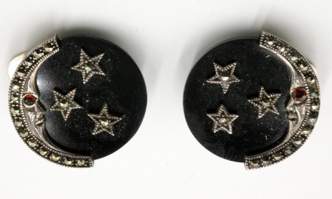 Sterling & Marcasite Earrings