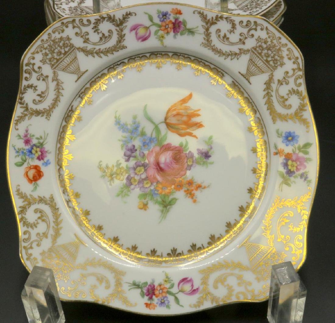 11 Pc. Bavaria Tirschenreuth Porcelain Plates