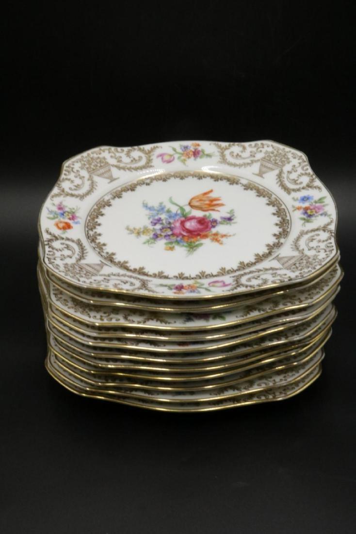 11 Pc. Bavaria Tirschenreuth Porcelain Plates - 2