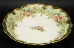 Limoges Coronet Hand Painted Porcelain Bowl