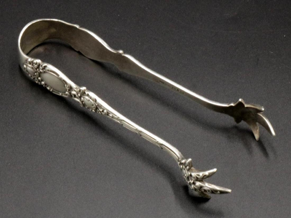 Sterling Silver Tongs