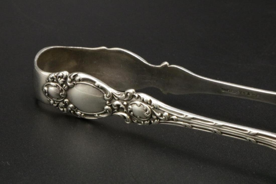 Sterling Silver Tongs - 2
