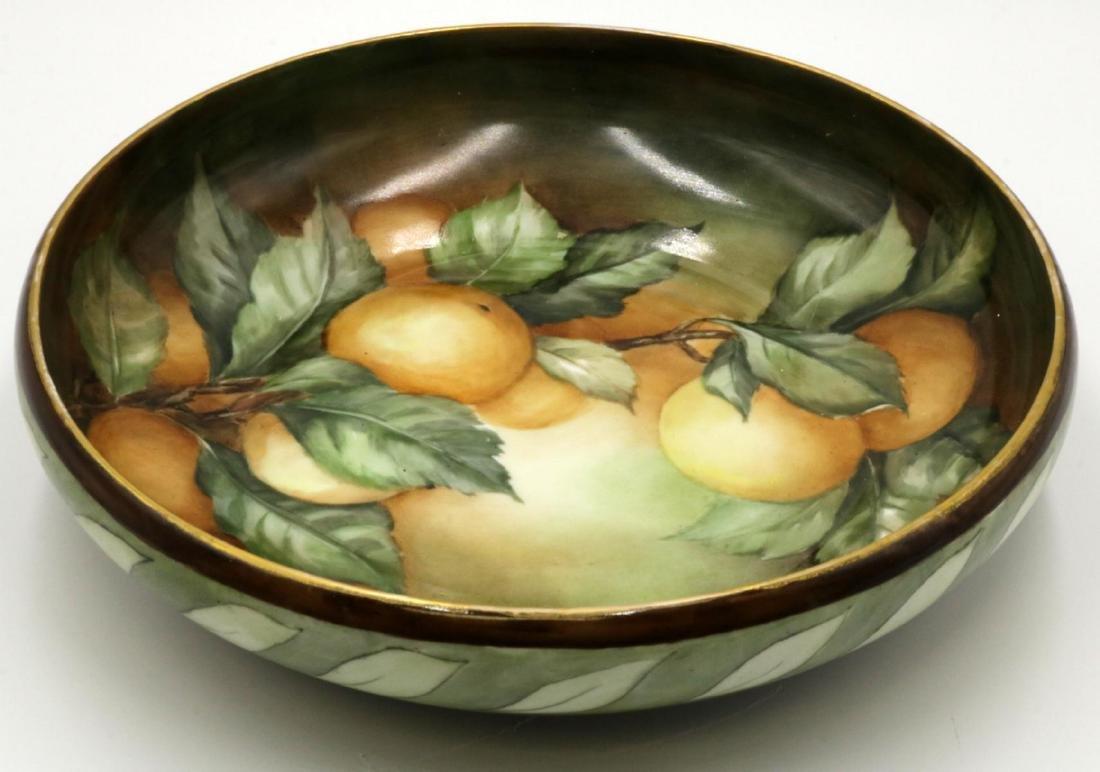 Antique Rosenthal Hand Painted Porcelain Bowl