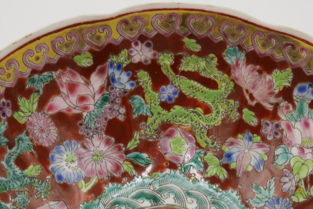 Antique Chinese Hand Painted Egg Shell Bowl - 2