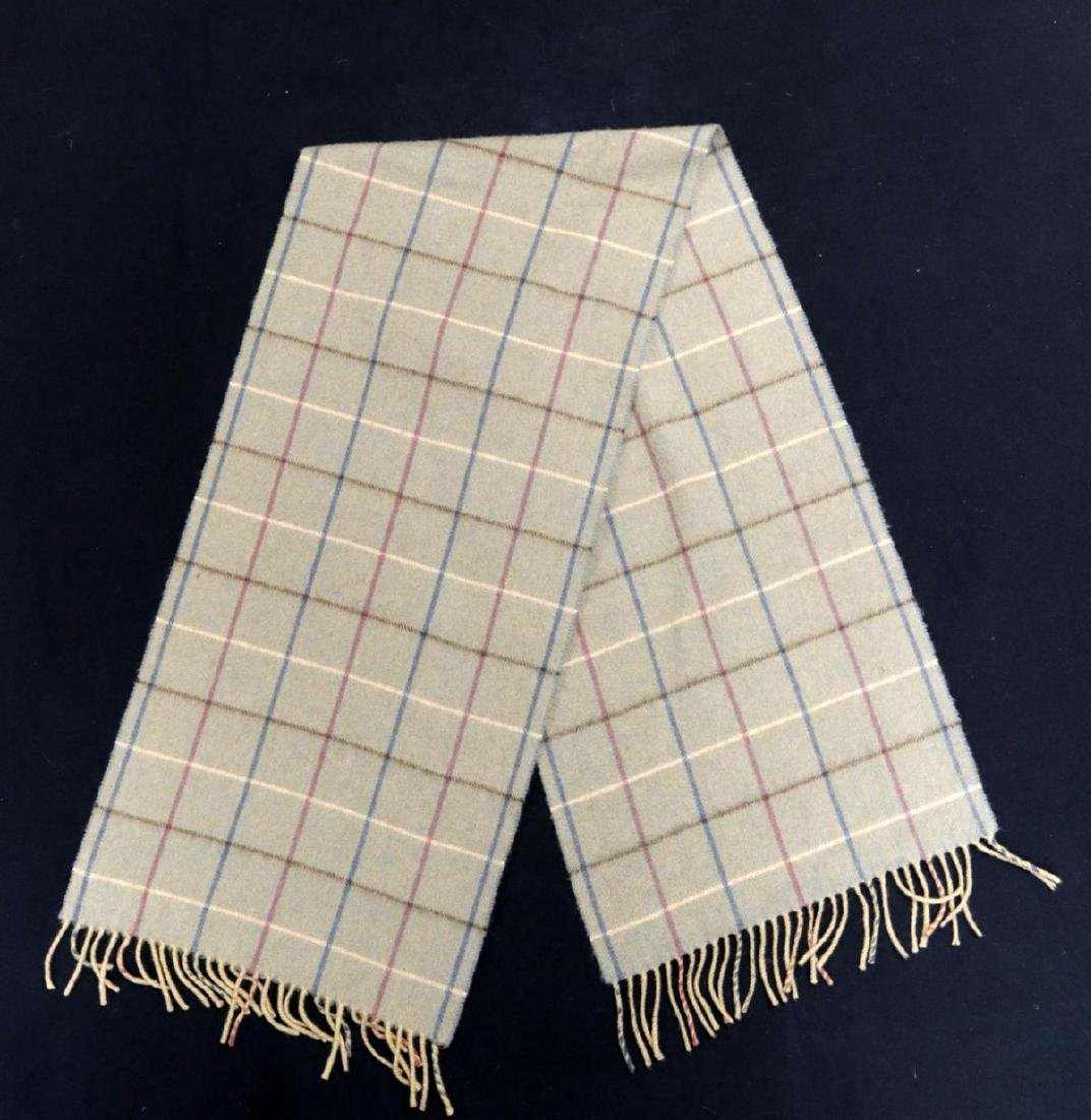 Burberry 100% Cashmere Unisex Scarf