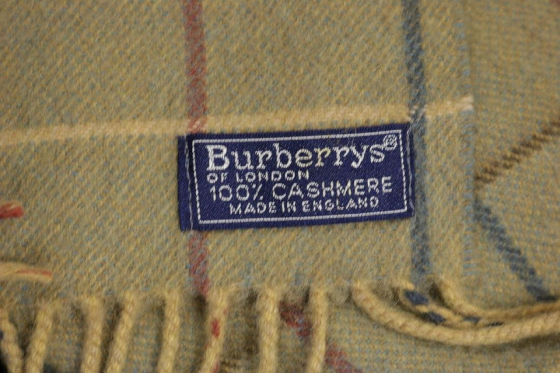 Burberry 100% Cashmere Unisex Scarf - 4